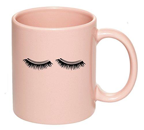 - Eyelash Mug Pink | Girl Boss, Entrepreneur, Get It Girl, Eyelashes, Bridesmaid Gift, Bridal Party,Boss Lady