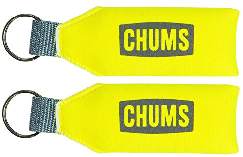 Chums Neo Floating Keychain, Yellow (Floating Keychain)