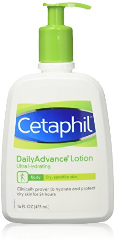 - Cetaphil DailyAdvance Ultra Hydrating Lotion for Dry/Sensitive Skin 16 oz (Pack of 2)