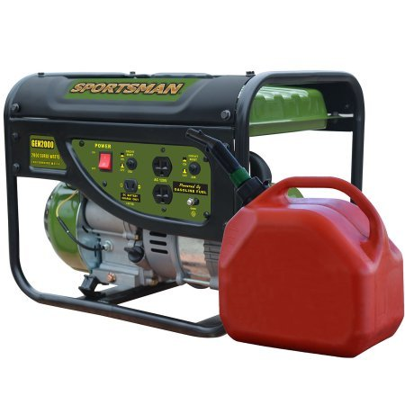 Sportsman Gasoline 2000W Portable Generator with Weatherproof Inverter Generator Cover and Magnetic Oil Dipstick Bundle by Man Sports (Image #3)