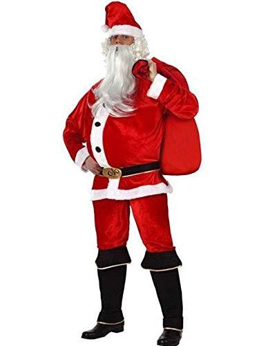 Disfraz de Papa Noel - Hombre, L: Amazon.es: Ropa y accesorios