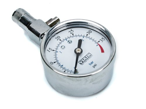 "Viair 90056 2.0"" Gauge (0-35 PSI) Tire Gauge with Bleeder Valve"
