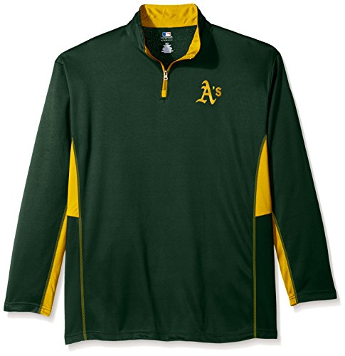 MLB Oakland Athletics Men's Long Sleeved Quarter Zip for sale  Delivered anywhere in Canada