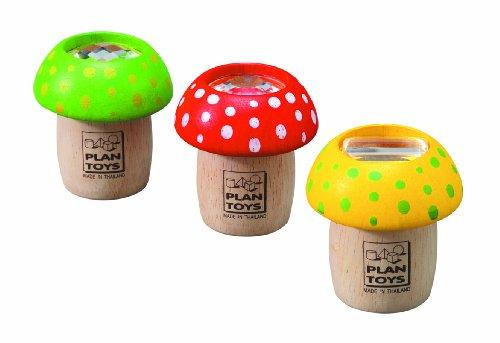 Plan Toys Mushroom Kaleidoscope – Each, Baby & Kids Zone
