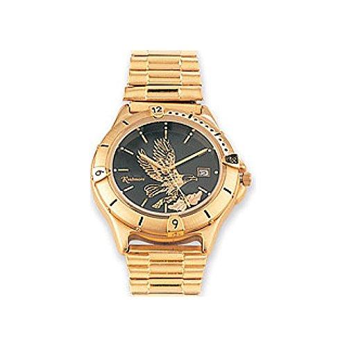 (Men's Black Hills Gold Eagle Watch)