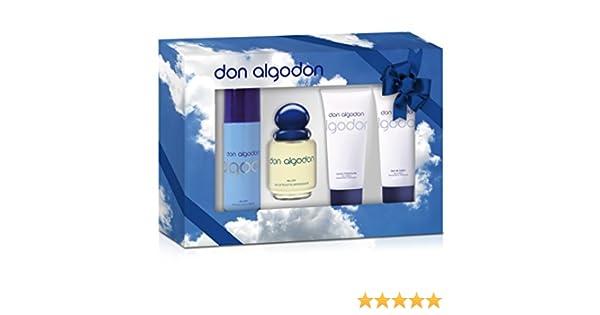 Don Algodon Agua de Colonia + Leche Corporal + Desodorante ...