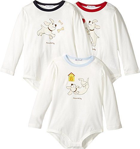 Dolce & Gabbana Kids  Baby Boy's Mimmo 3-Pack One-Piece (Infant) Multicolor - Gabbana Clothing & Dolce