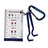 Atlantick Tick Pick Remover Tool, Easy to Use Tick Removal Tools and Tick Identification Card (1 Pack)