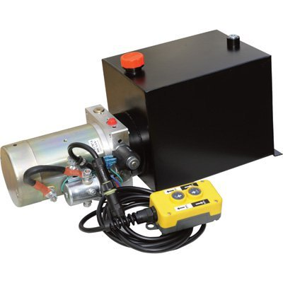 NorTrac Single-Acting Dump Trailer Power Unit - 12 Volt, Model# YBZ5-F2.1D1W2/WUCTT1