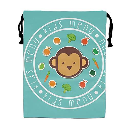 Kids Menu Cinch Sack Bag Fashion Sports -