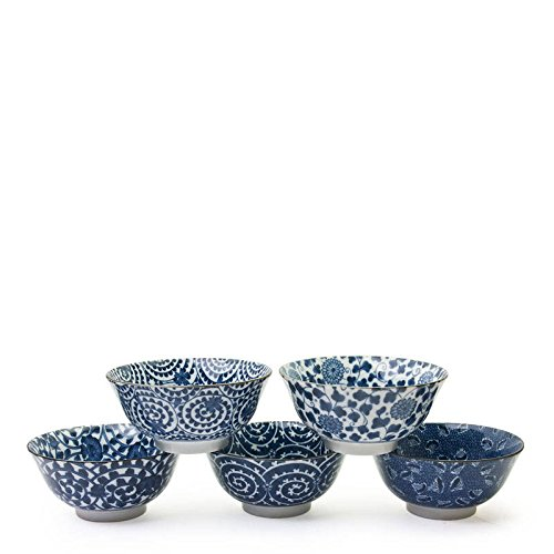 Blue Don Karakusa Bowl Set