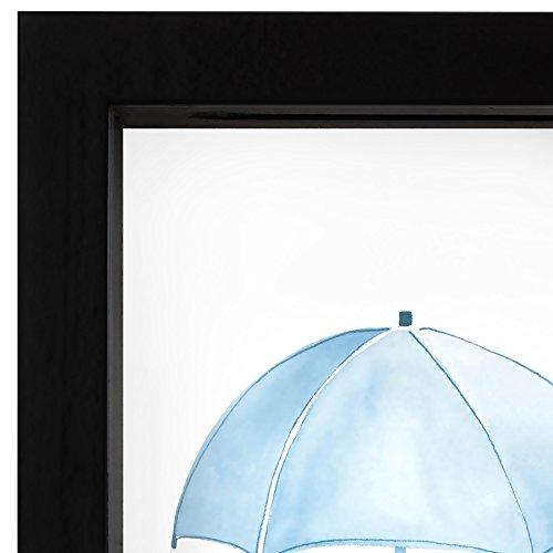 Americanflat Rainy Day Fund Decorative Shadow Box Frame, Glass Sized 5x7 Inches