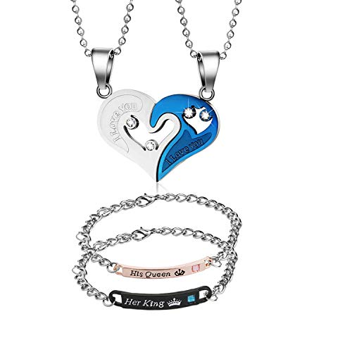 Highven Couple Necklace...