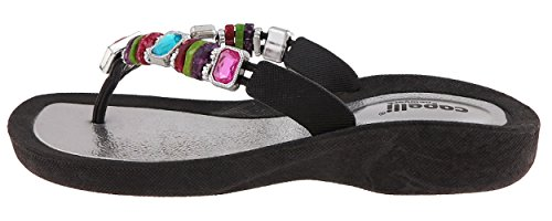 Silver Flip New with Flops Rainbow Combo Capelli Molded York Trim Beads Injected Ladies Thong pCgnq7Rw
