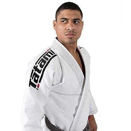 Tatami BJJ Gi Estilo 6.0 Blanco Negro Premier Jiu-Jitsu ...
