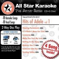 Karaoke: Hits of Adele by Various Artists [2011] Audio CD