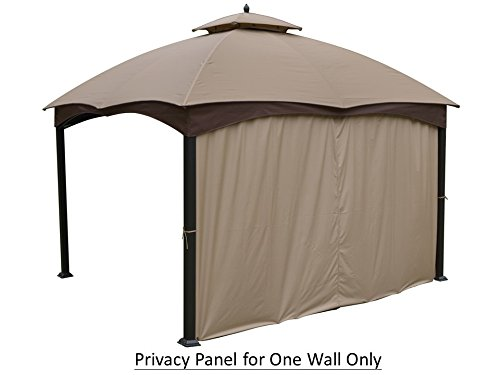Universal 12' Privacy Panel Curtain for 10' and 12' Gazebo