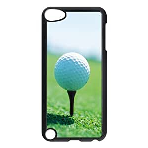 Custom Hard Plastic Back Case Cover for iPod Touch 5 with Unique Design Golf