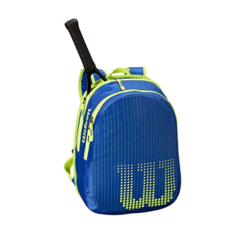 Wilson Ultra Team 25 Inch Junior Tennis Racquet Set or Kit Bundled with a Neptune Blue/Solar Lime Kid's Tennis Backpack and a Can of Tennis Balls by Generic (Image #3)