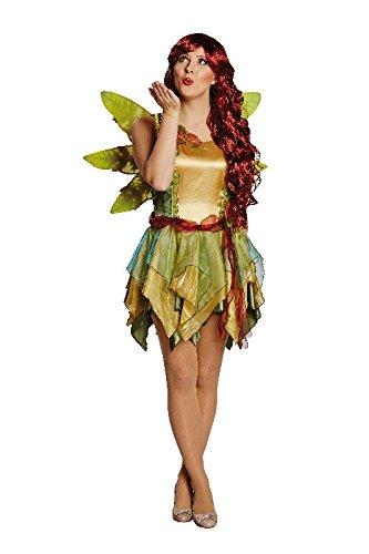 Mottoland Damen Kostüm Elfe Waldfee Karneval Fasching Fantasy