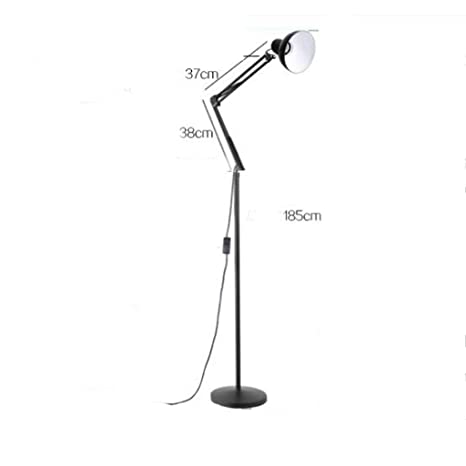 Amazon.com: SED Floor Lamp-Led Creative American Style Long ...