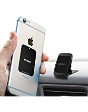 Wuteku Magnetic Cell Phone Dashboard Holder Kit for Car | Works on All Vehicles, Phones & Tablets | Compatible with Phones XR XS X 8 7 & Samsung S10 S9 S8 by Pro Driver | Strong 3M