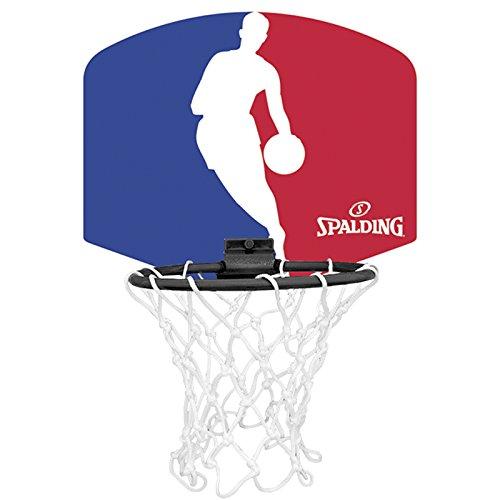 Spalding NBA Logoman Mini canasta de baloncesto Unisex niños Azul  Rojo