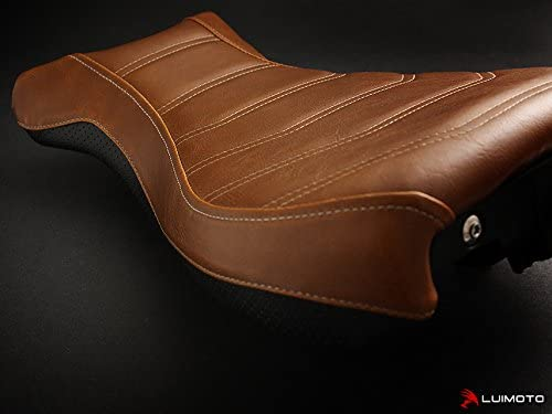 Pure Racer 2014-2020 Vintage Brown Luimoto Seat Cover for BMW R Nine-T Front by Sixty61