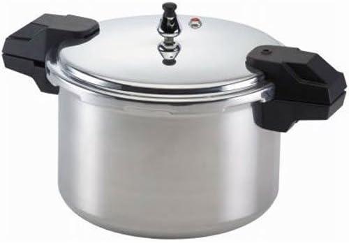 mirro polished aluminum pressure cooker