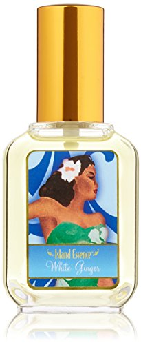 Island Essence Cologne, White Ginger (Perfume White Ginger Essence)