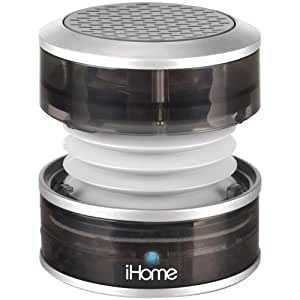 iHome iHM60GY Rechargeable Mini Speaker (Gray)