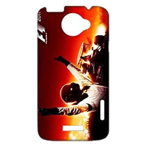 The Most Excited Sport FIA Formula 1 World Championship Car Design Phone Case HTC one x Case Cover-Best Protective Hard Plastic Cover