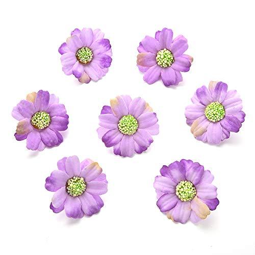 Silk-Flowers-in-Bulk-Wholesale-Silk-Sunflower-Artificial-Flower-Wedding-Home-Decorative-DIY-Flower-Wall-Scratchpad-Gift-Box-Decorative-Flower-Fake-Flower-100pcs-4cm-Multicolor