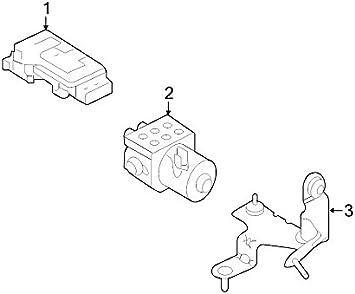 Ford 9L3Z-2C219-H ABS Control Module