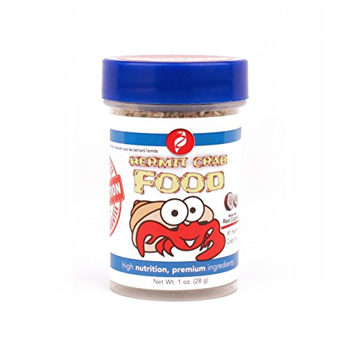 ety Bites Hermit Crab Food - Hermit Crabs Need A Nutritious Daily Diet To Ensure Lively Behavior And Growth - Our Live Hermit Crab Food Contains Vitamin Enriched Ingredients (1 oz) (Diet Hermit Crab Food)