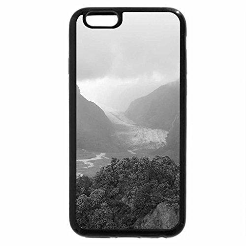 iPhone 6S Case, iPhone 6 Case (Black & White) - Foggy New Zealand