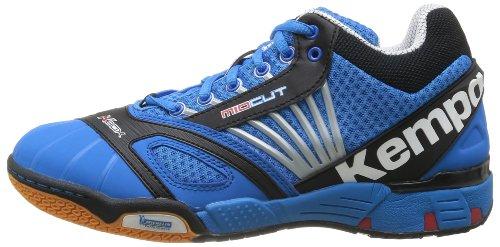 Kempa Typhoon bleu Homme Midcut Bleu De Chaussures Handball 7BSqrU7n