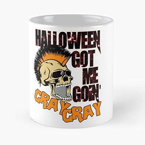 Halloween Prop Wigs Village Usa Gift Coffee/tea Ceramic Mug Father Day]()
