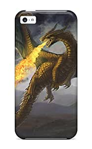 Fire Dragon Case Compatible With Iphone 5c/ Hot Protection Case