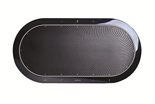 Jabra Speak 810 Speakerphone (Non-Wireless) | Bluetooth, USB, NFC, 3.5mm inputs | Compatible with UC, Softphones, Smartphones, Tablet, PC | Skype, Cisco, Siemens, IBM Sametime, Avaya #7810-209