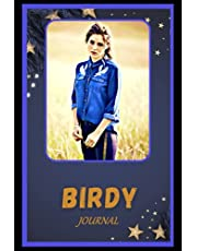 Journal: Birdy Inspired College Ruled Notebook for Writing ( 6x9, Thick Paper, 120 Pages )