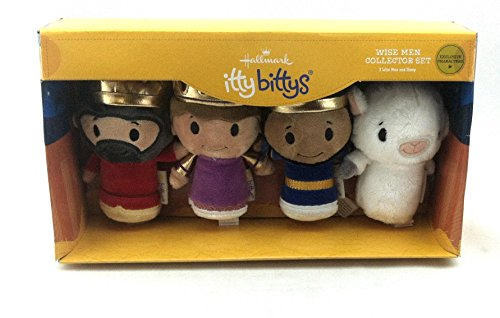 Hallmark KDD1092 Itty Bitty Wise Men Collector Set