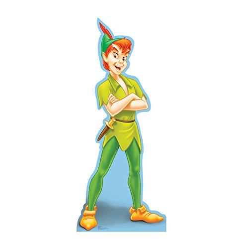 Advanced Graphics Peter Pan Life Size Cardboard Cutout Standup - Disneys Peter Pan
