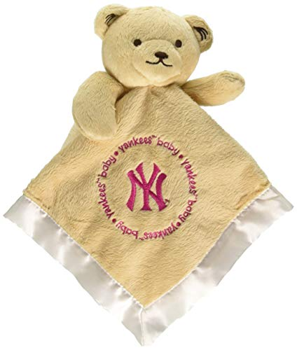 - Baby Fanatic Security Bear Pink Logo New York Yankees