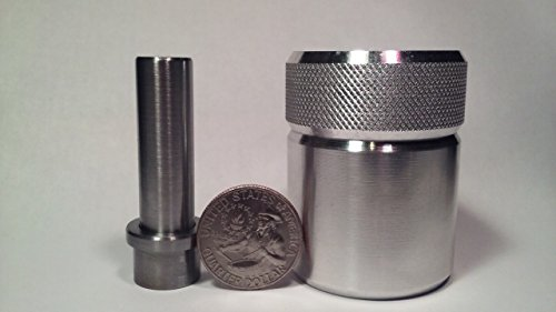 Coin Ring Center Punch for Quarters. Comes with 1/2
