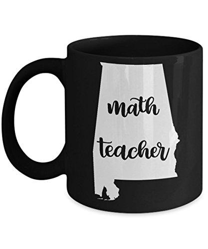 Alabama Math Teacher Home State Back To School Teacher Day Coffee Mug Gift 11oz