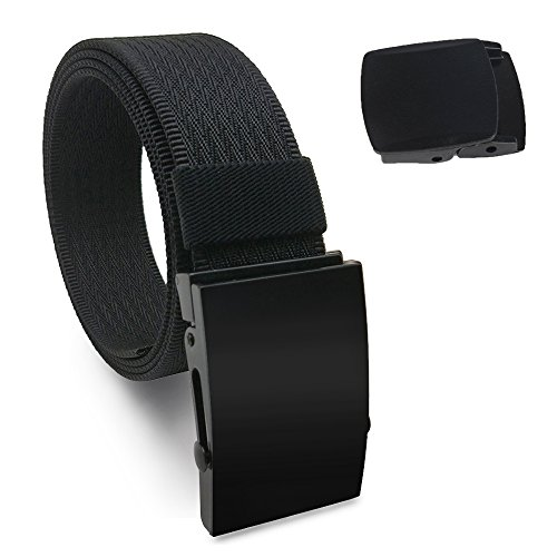Hoanan Men Nylon Web Belt 1.5