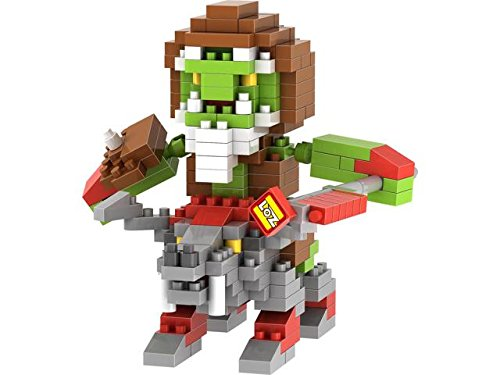 LOZ Diamond Blocks World of Warcraft 250 pieces Minifigure -Orcs Prophet