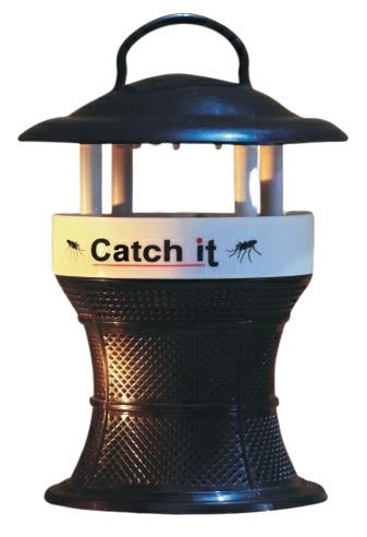 Genric Catch It Trap for Mosquitoes/Electric/Light Mosquito Pack (Black and White)