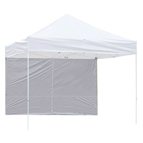 Z-Shade 10-Foot Peak Canopy Tent Taffeta Sidewall Accessory, White by Z-Shade